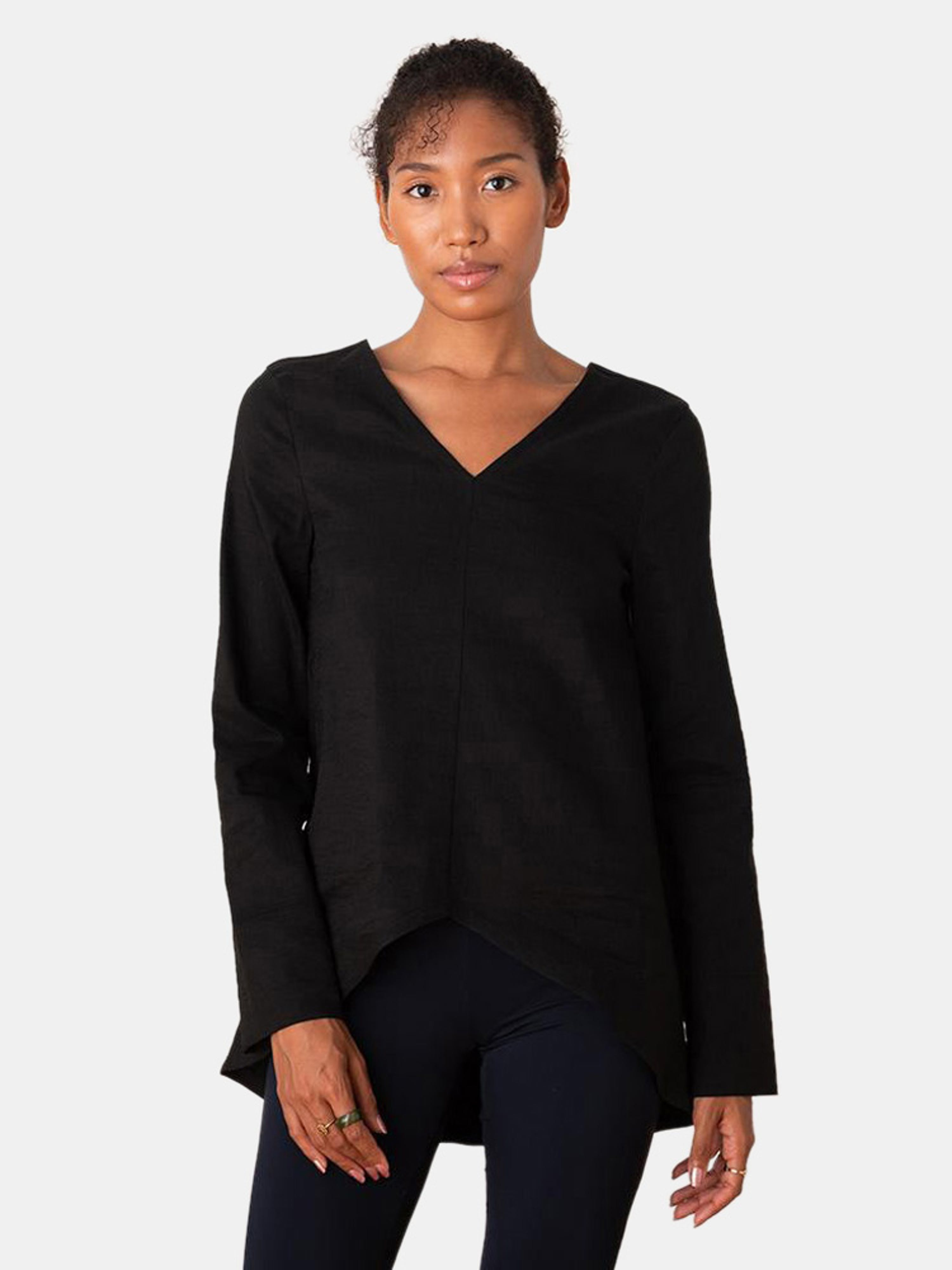 Aday Let Loose Shirt In Black