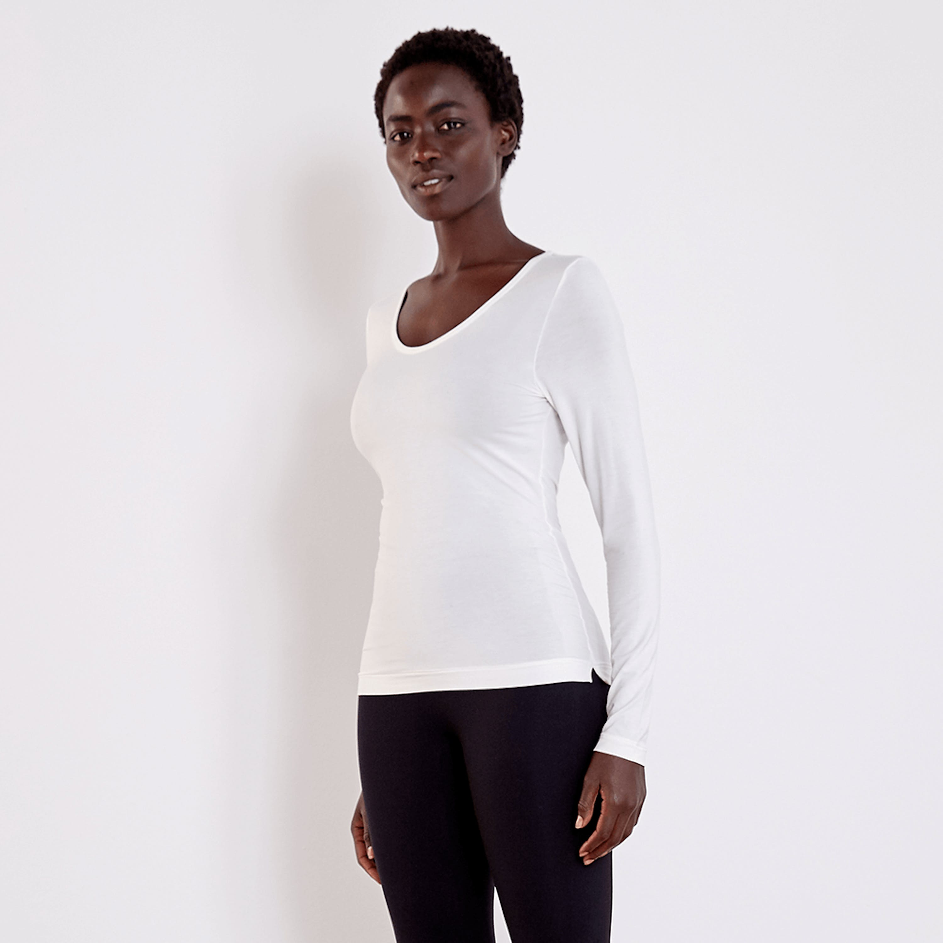 Aday Simple Things Top In White