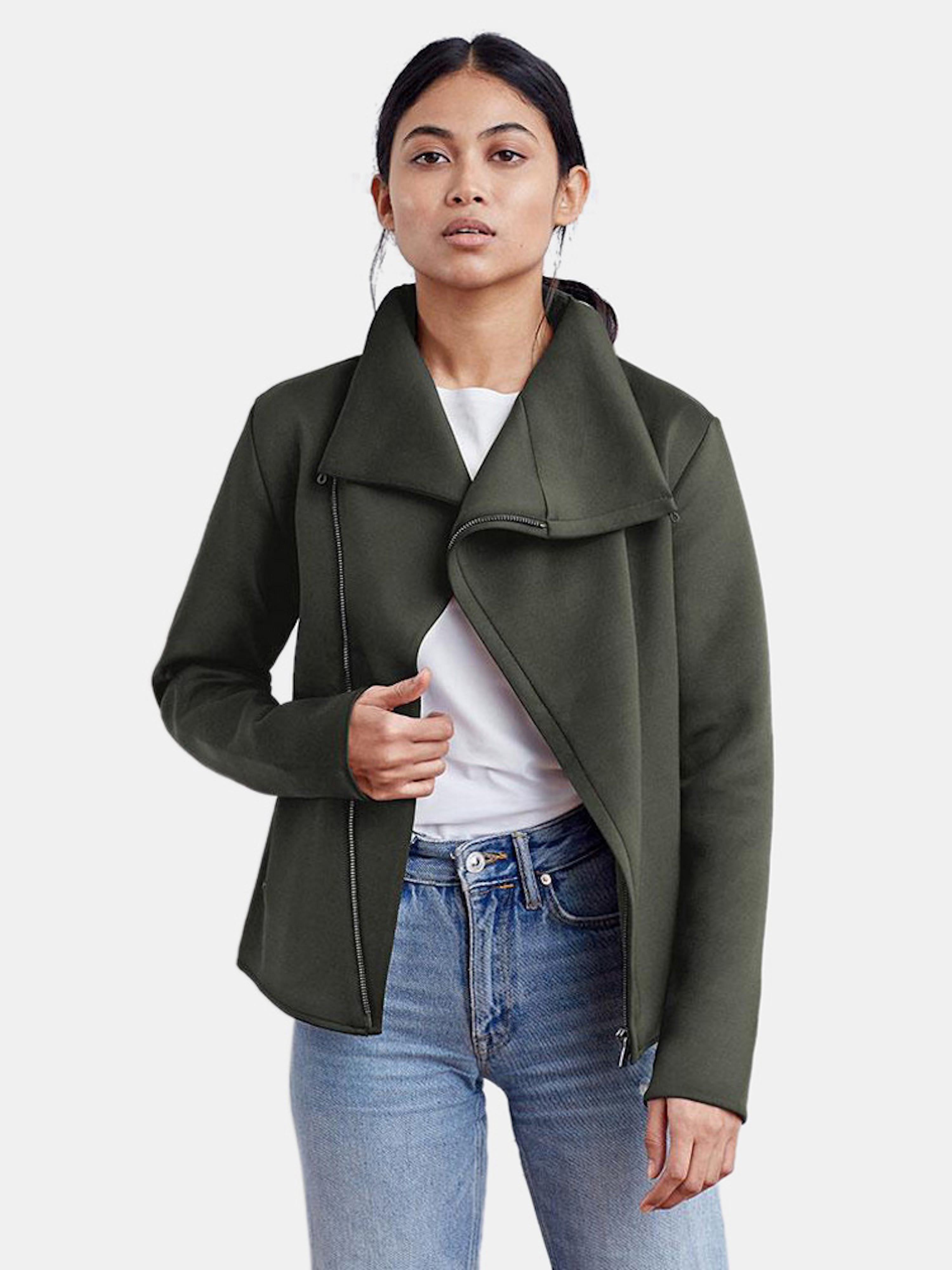 Aday Up In The Air Jacket In Green