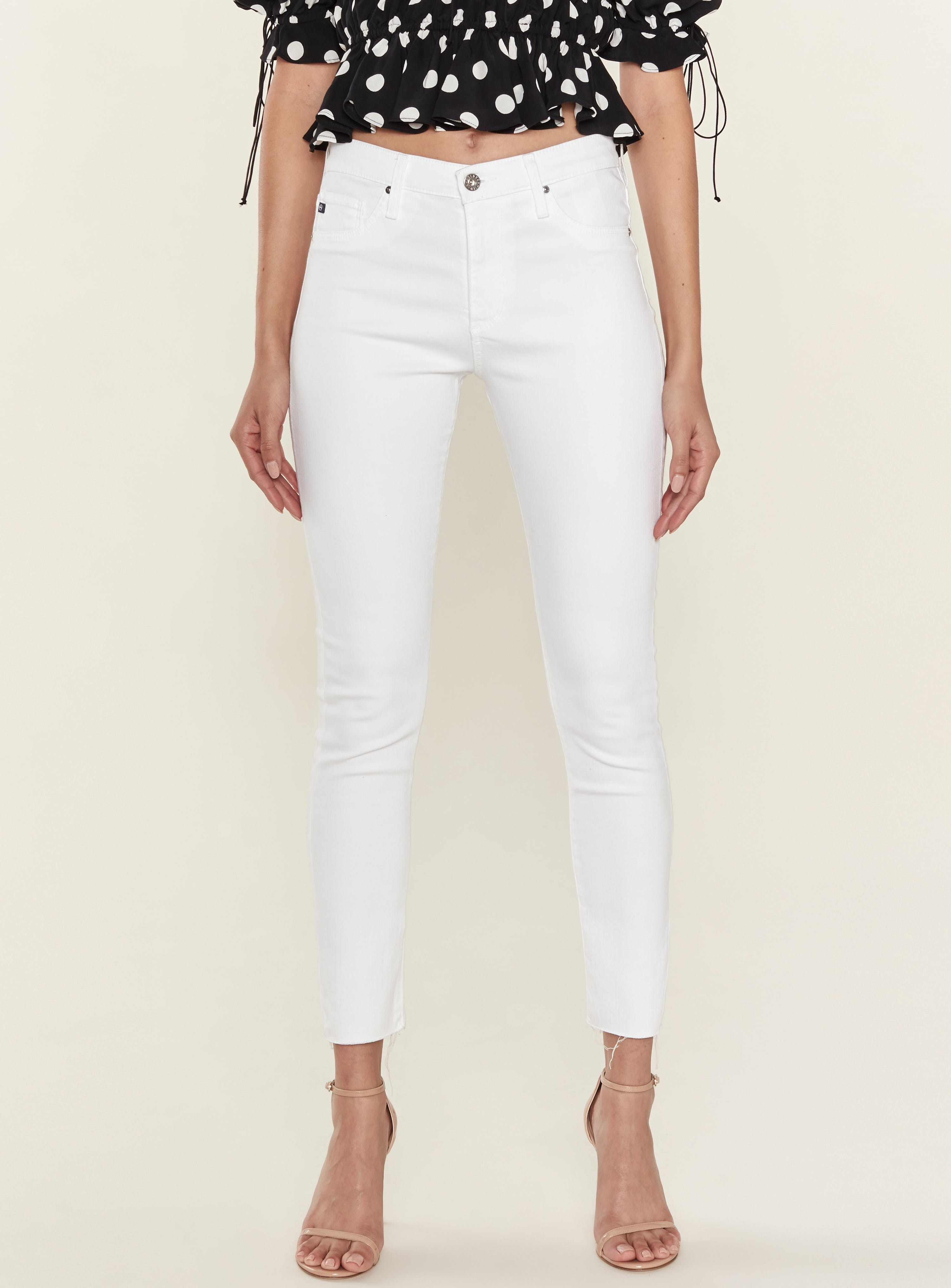 Ag Cottons FARRAH SKINNY ANKLE JEANS