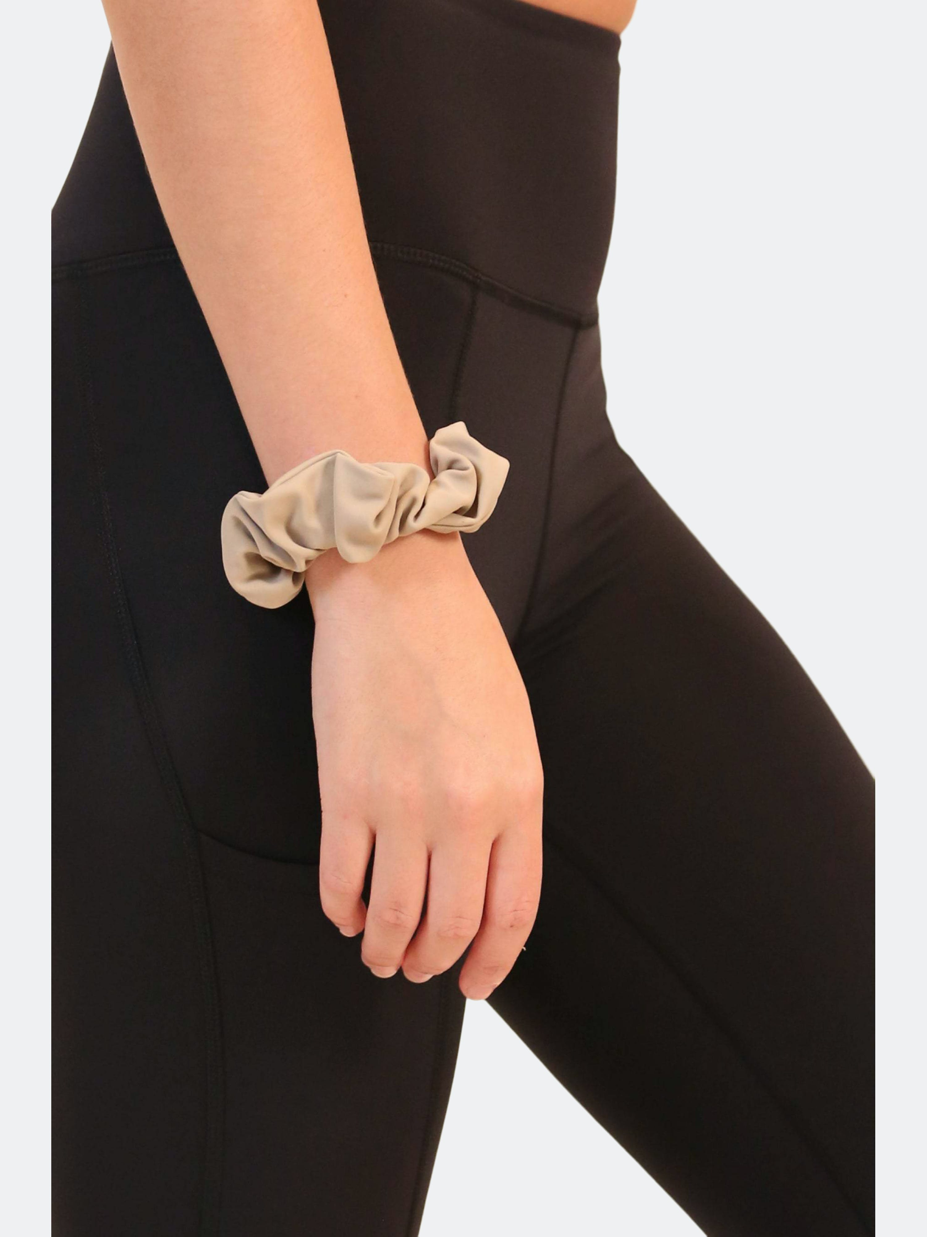 Alana Athletica The Eco Scrunchie In Brown