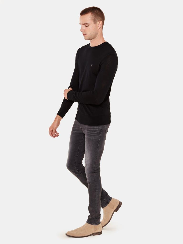 ALLSAINTS Mode Merino Ramskull Crewneck T-Shirt product image