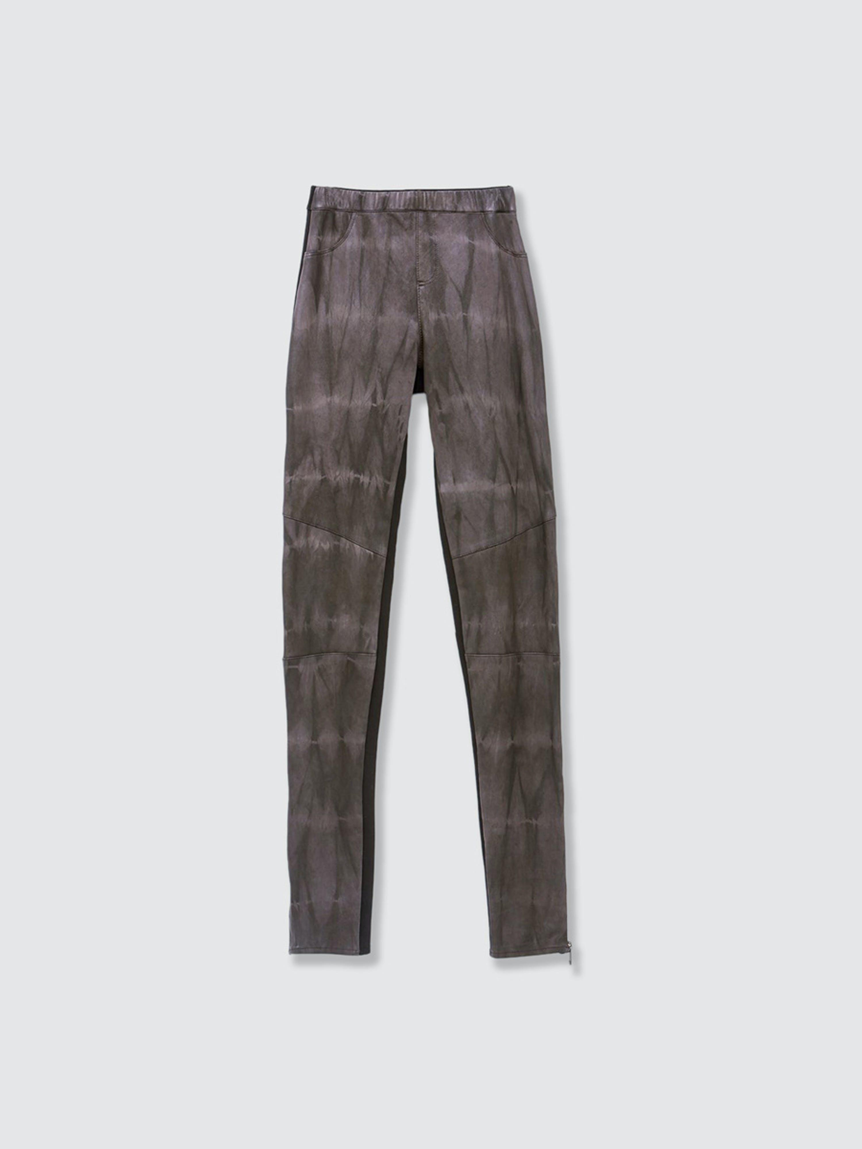 As By Df Kiki Leather Leggings In Brown