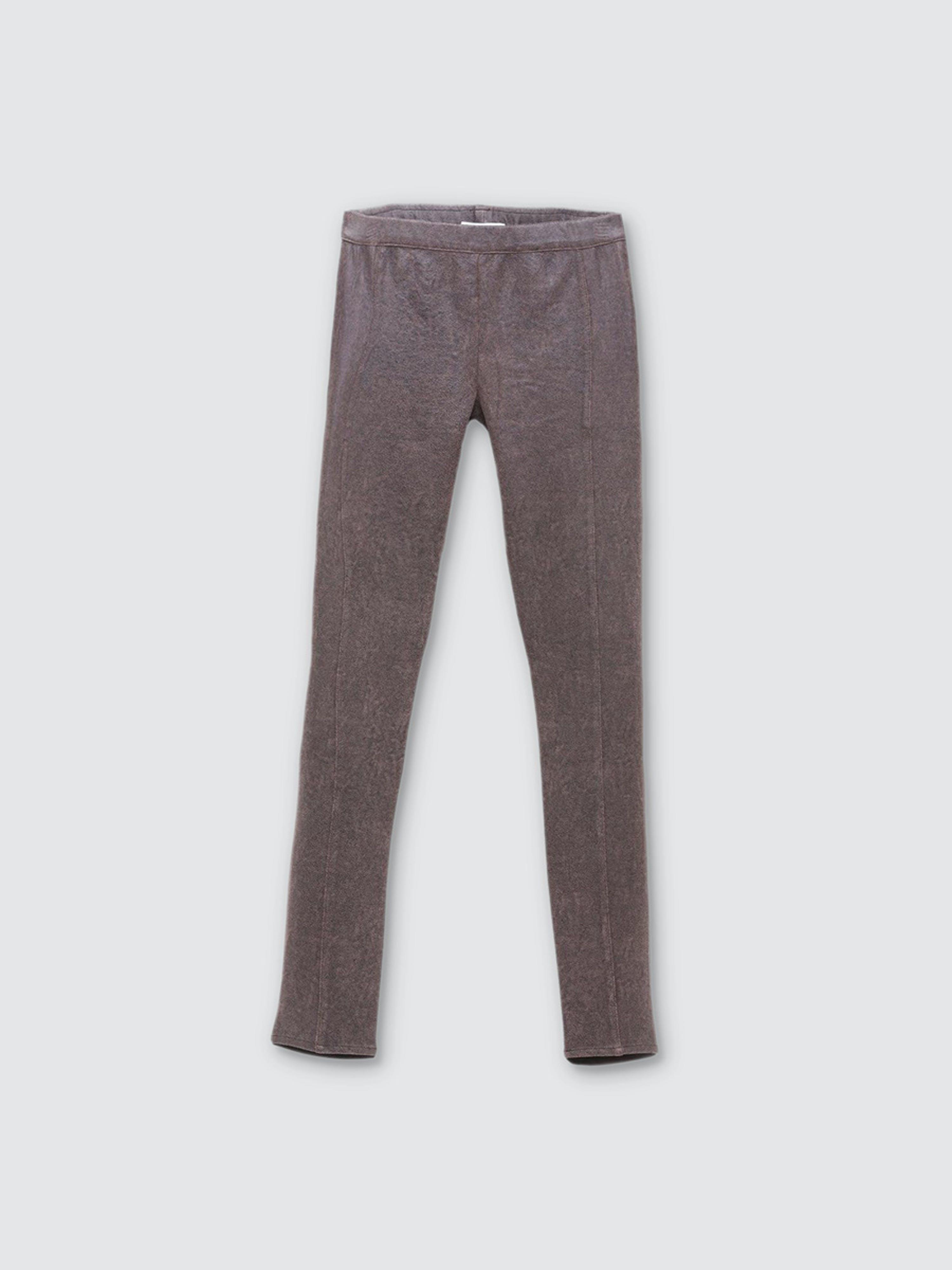 Astars Santa Fe Vegan Leather Leggings In Gray