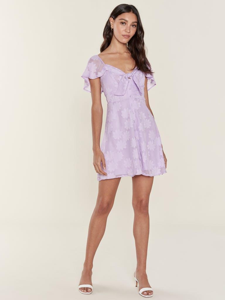 ASTR the Label Rosalyn Floral Mini Dress  product image