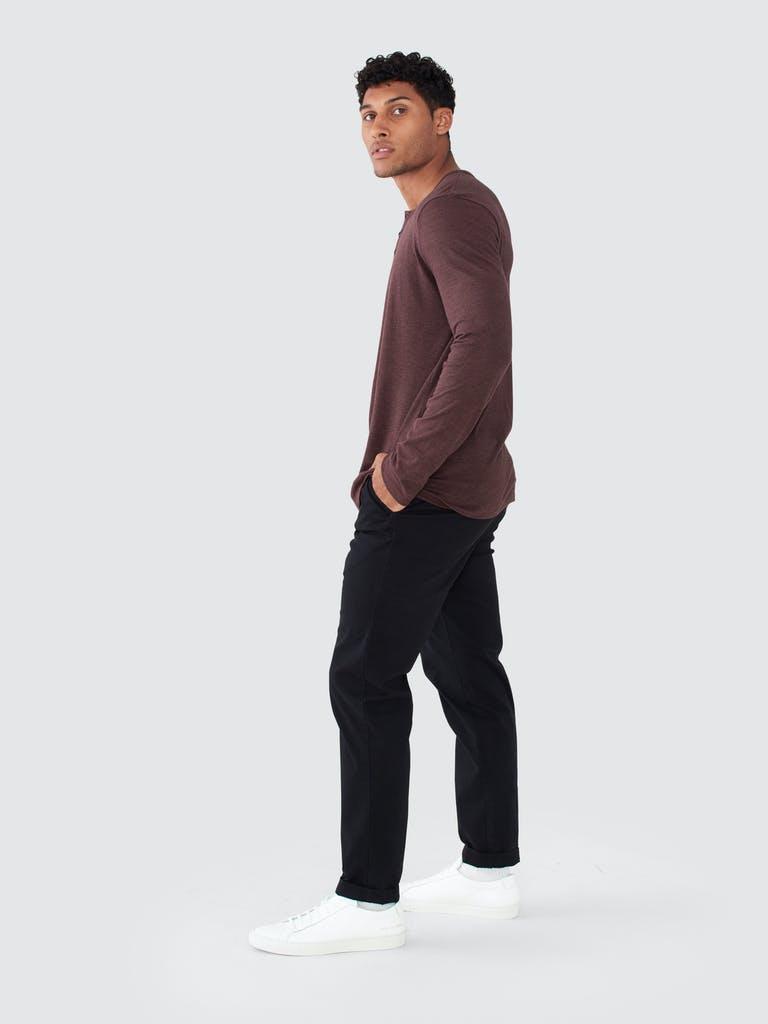 ATM Anthony Thomas Melillo Stripe Long Sleeve Jersey Henley product image