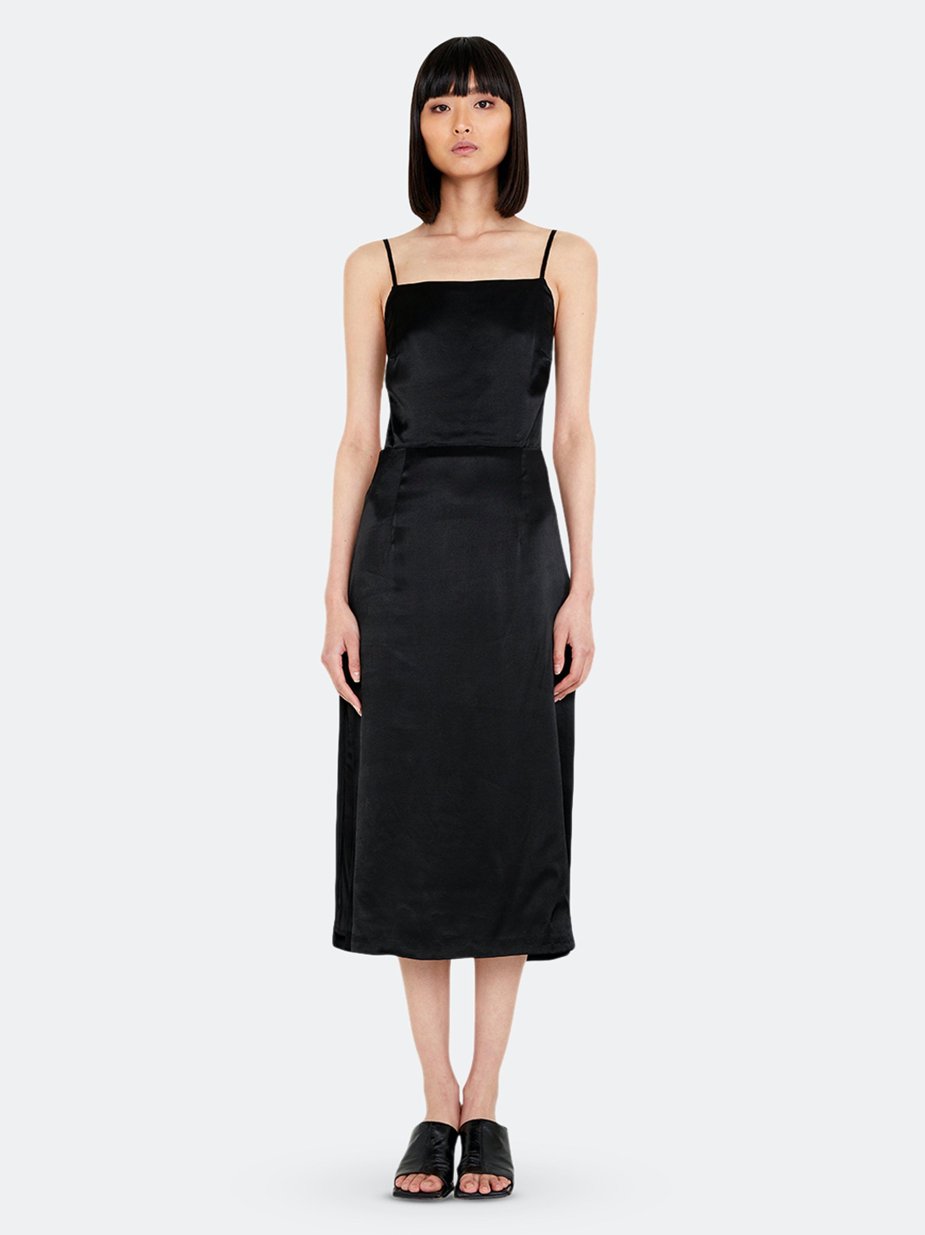 Bardot Dresses EXPOSED BACK SLIP DRESS