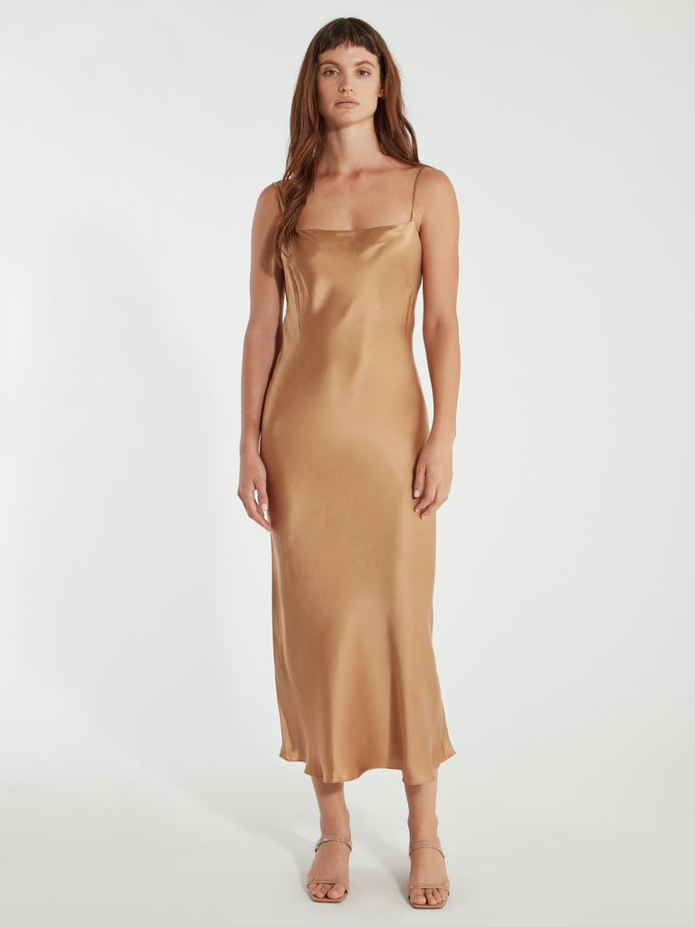 Bec & Bridge Clara Silk Slip Dress product image