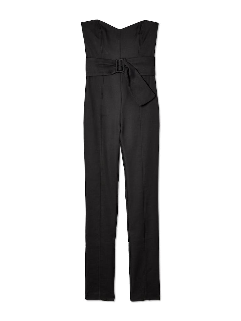 Bec & Bridge Dana Strapless Belted Jumpsuit product image