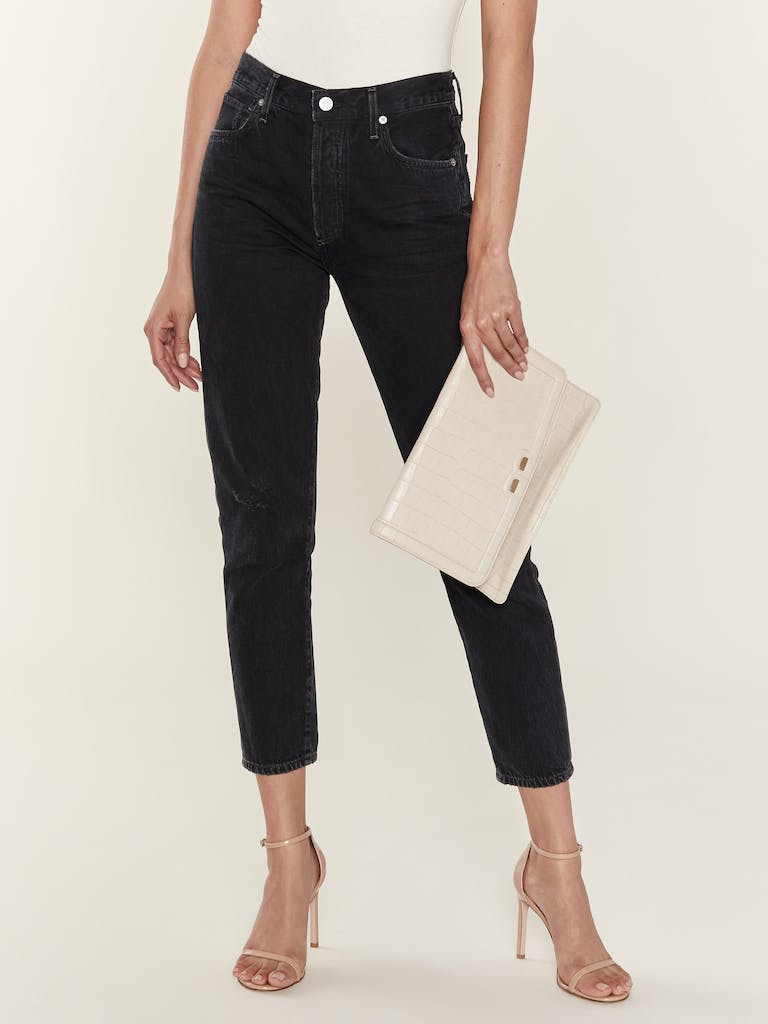 BENE Caffery Leather Clutch product image