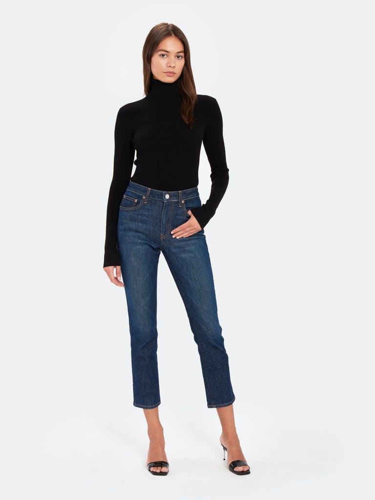 Billie the Label Jean Rib Turtleneck Sweater product image