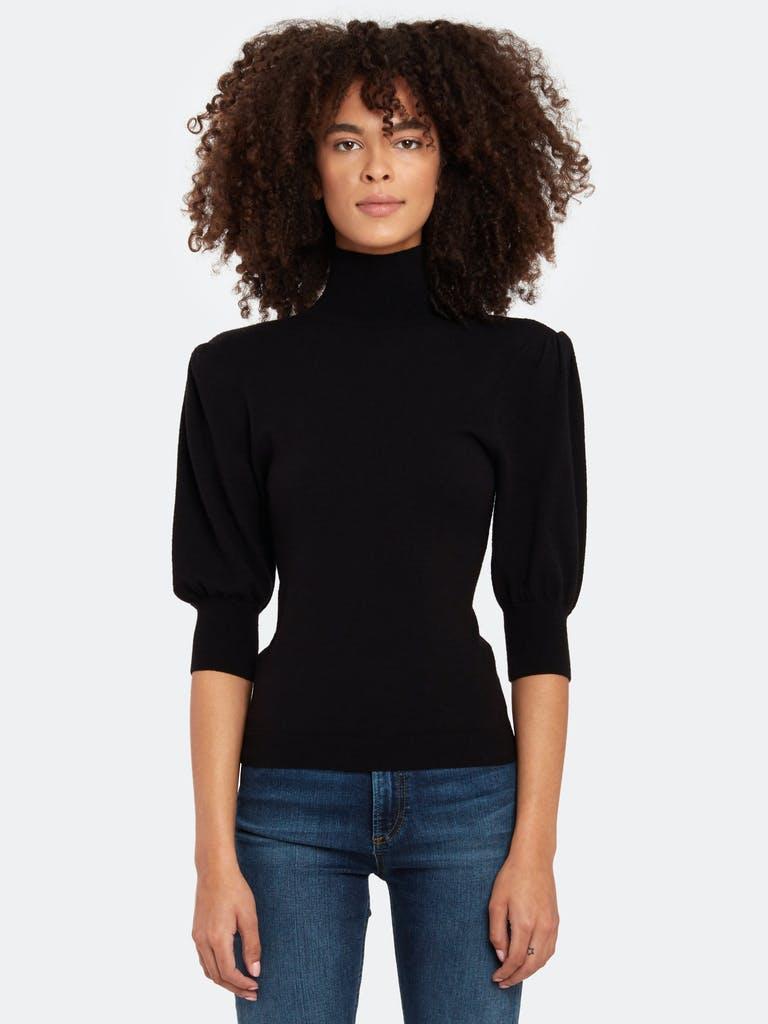 Billie the Label Lindsey Blouson Sleeve Turtleneck Sweater product image