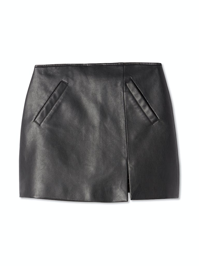 BLANKNYC Faux Leather Skirt product image