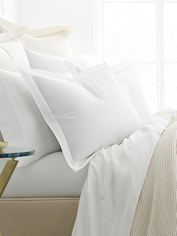 Boll & Branch Solid Hemmed Organic Cotton Sham product image