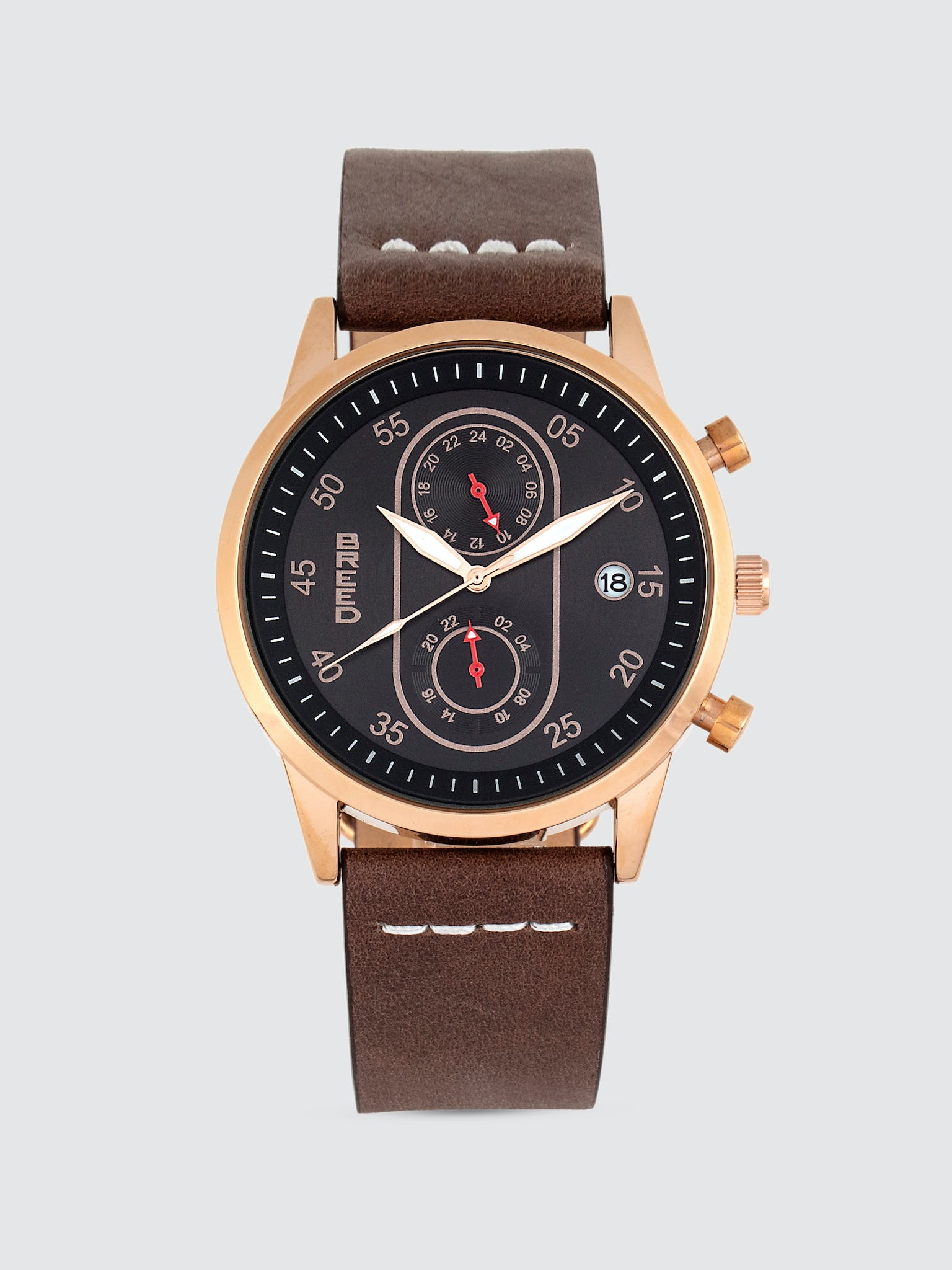 Andreas Leather Band Watch