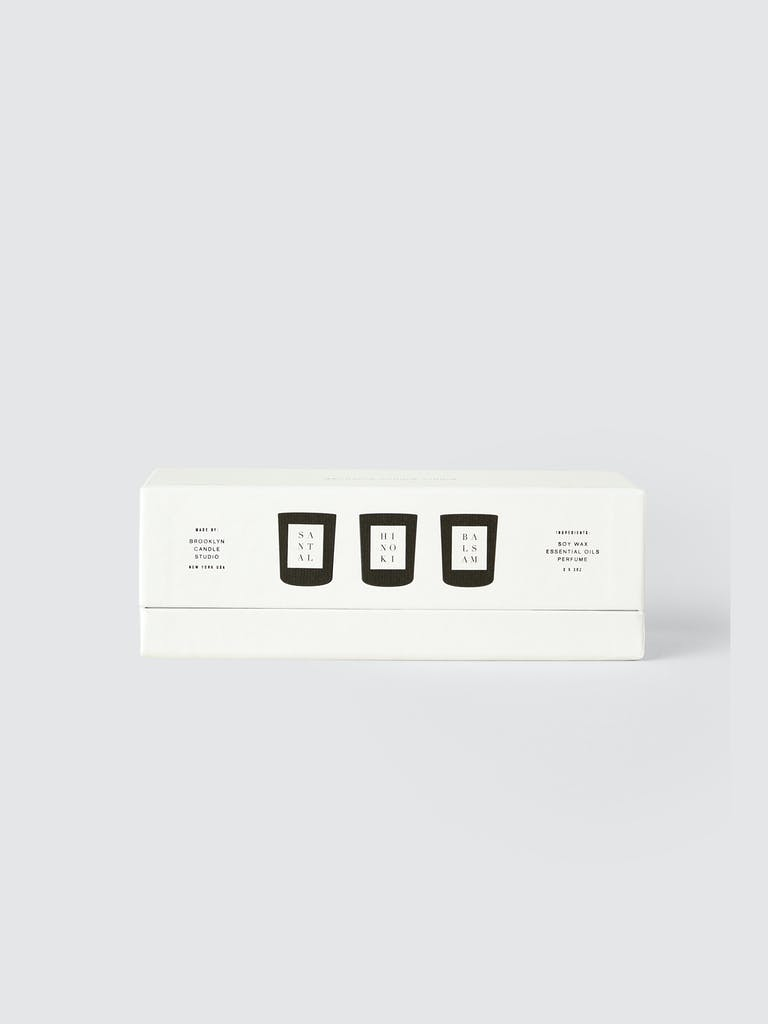 Brooklyn Candle Studio 3 Votive Set: Woods product image