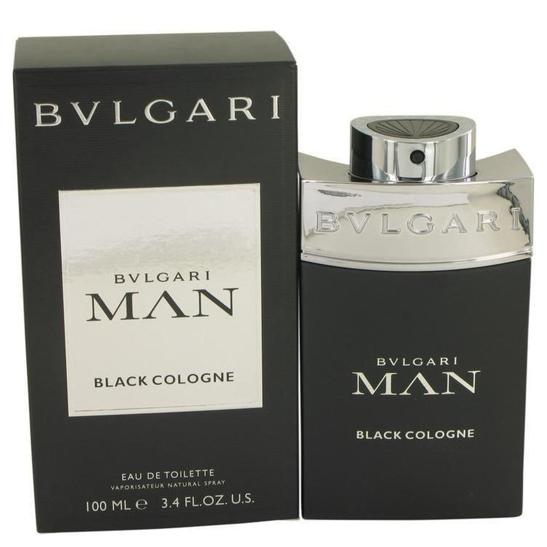Bvlgari Man Black Cologne By  Eau De Toilette Spray 3.4 oz
