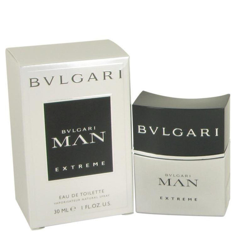 Bvlgari Man Extreme By  Eau De Toilette Spray 1 oz