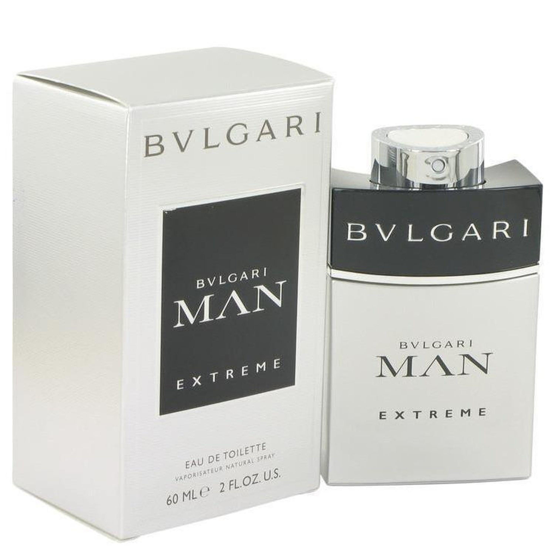 Bvlgari Man Extreme By  Eau De Toilette Spray 2 oz In Gray