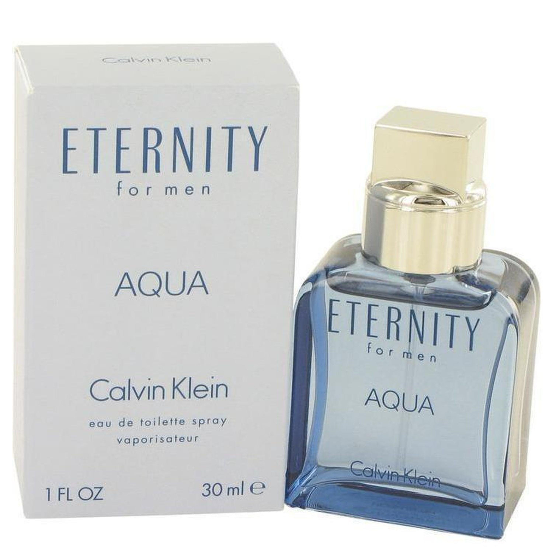 Calvin Klein Eternity Aqua By  Eau De Toilette Spray 1 oz In Blue