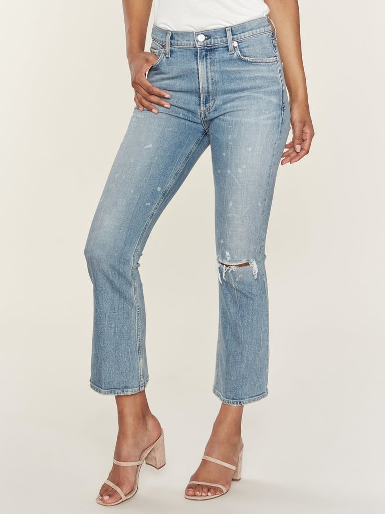 Citizens of Humanity Demy Cropped Flare Jeans product image