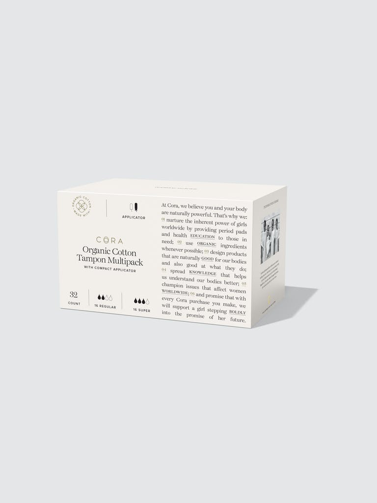 Cora Organic Tampons with Applicator - Multi Regular/Super product image