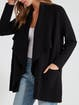 cupcakes and cashmere Marta Drape Front Coat product image