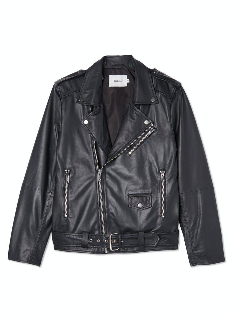 Deadwood Leather Biker Jacket product image