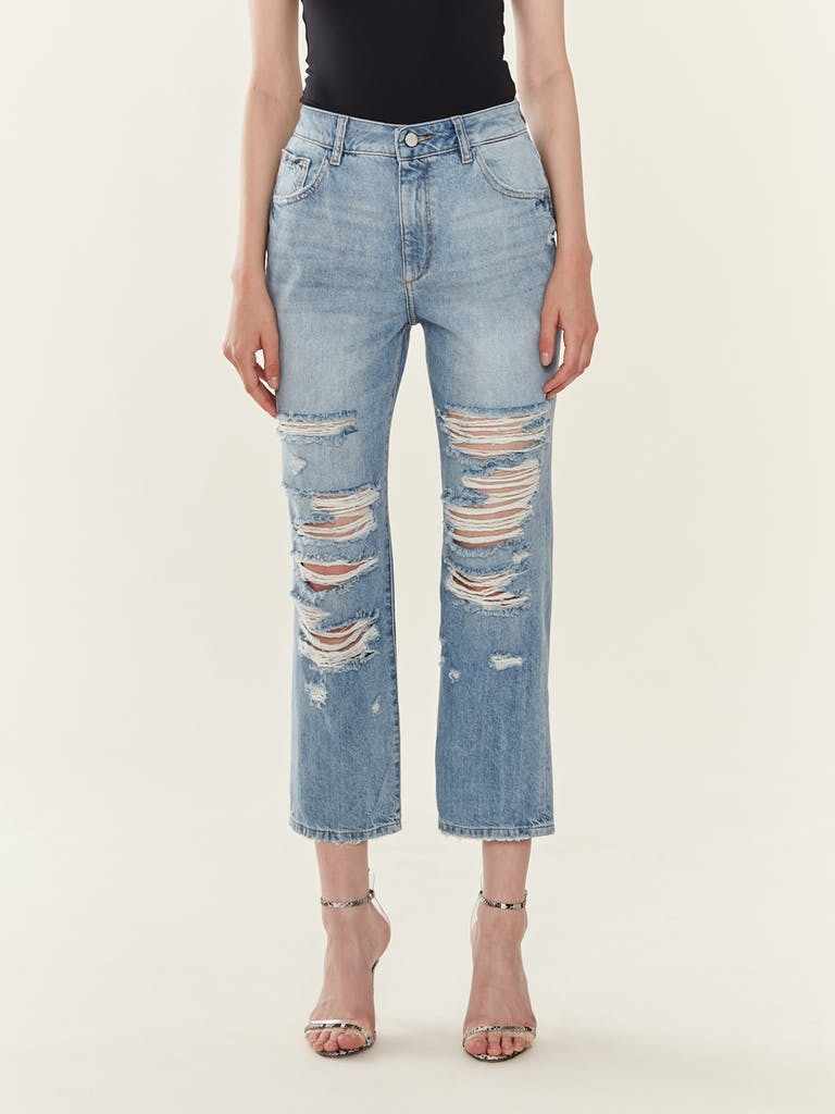 DL1961 Jerry High Rise Vintage Straight Jeans product image