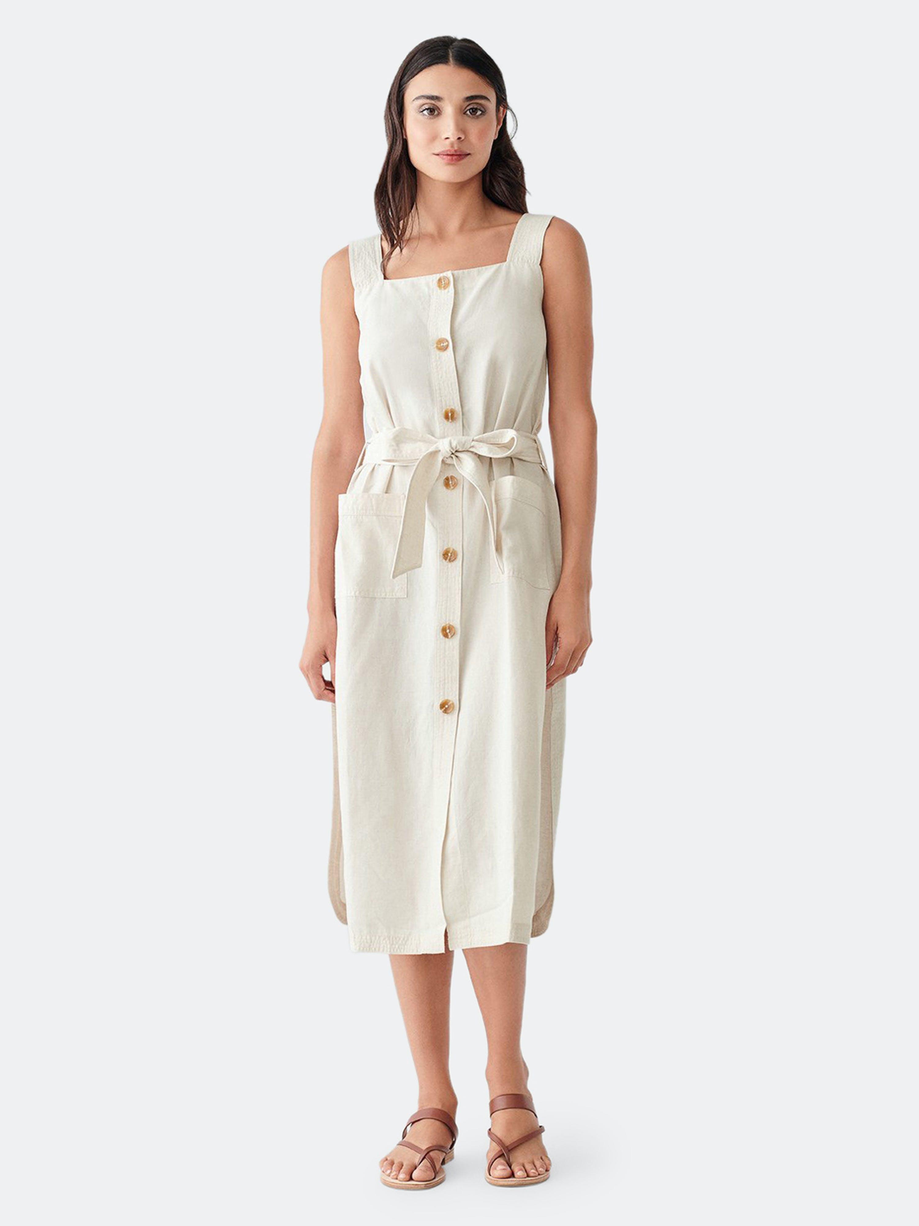 Dl1961 Lexia Dress | Oatmeal In White