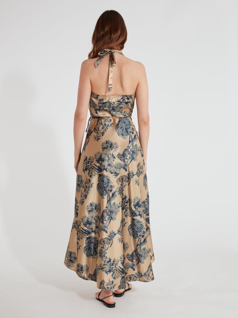 Ellejay Grace Wrap Midi Dress product image