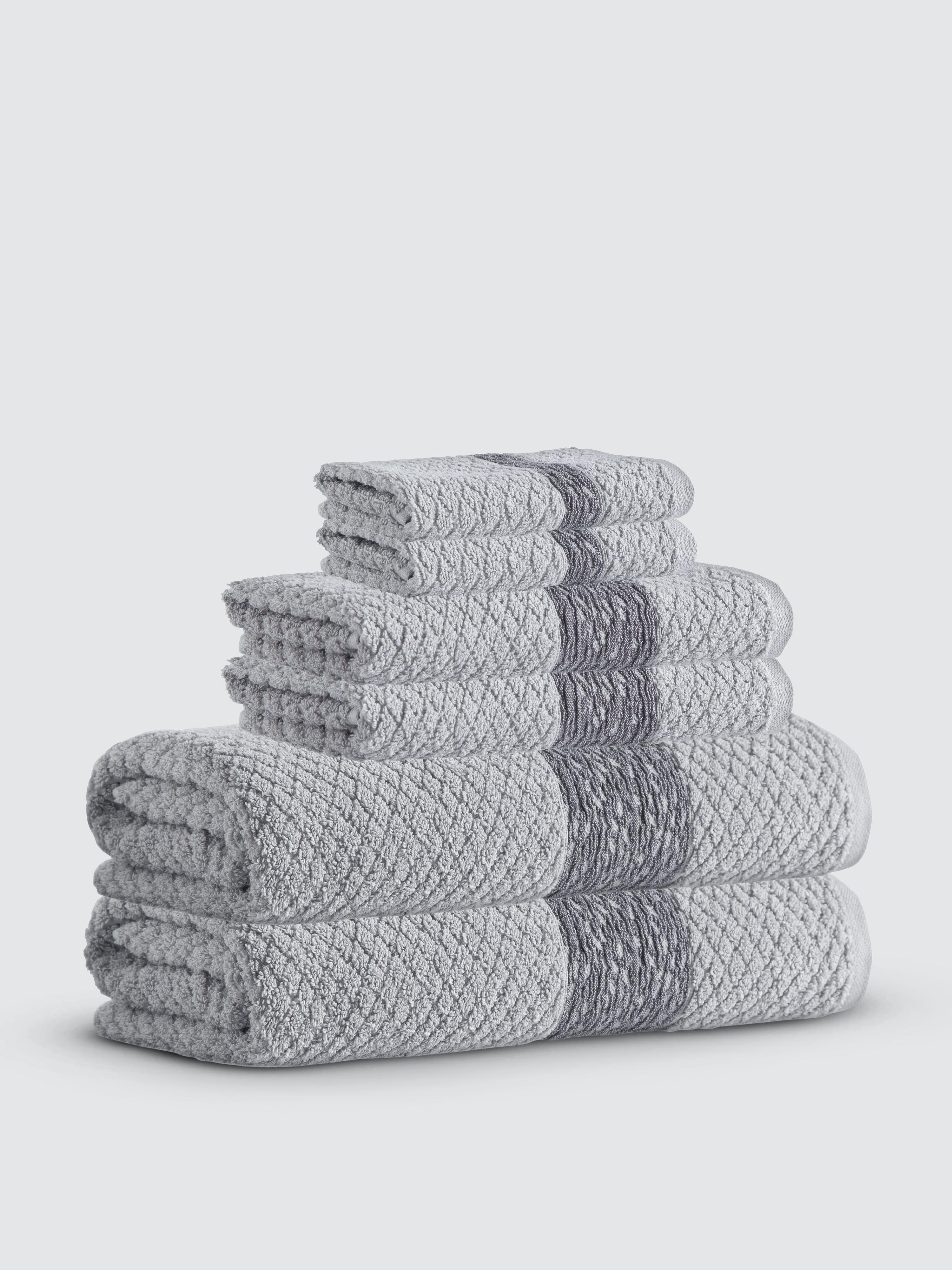 Enchante Home Towels ENCHANTE HOME ANTON TURKISH COTTON TOWEL SET OF 6