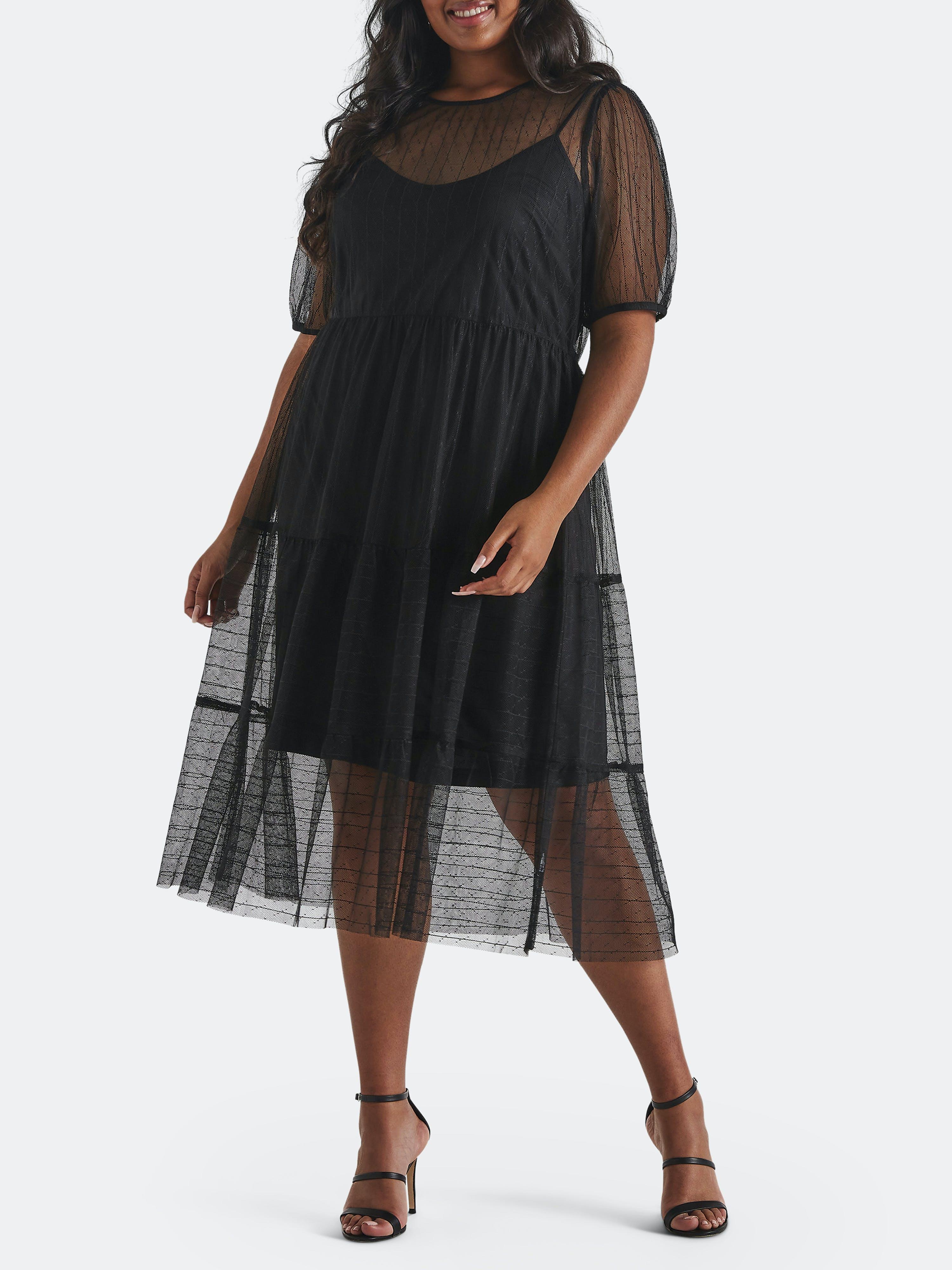 Estelle Midi dresses ESTELLE CAGED DRESS