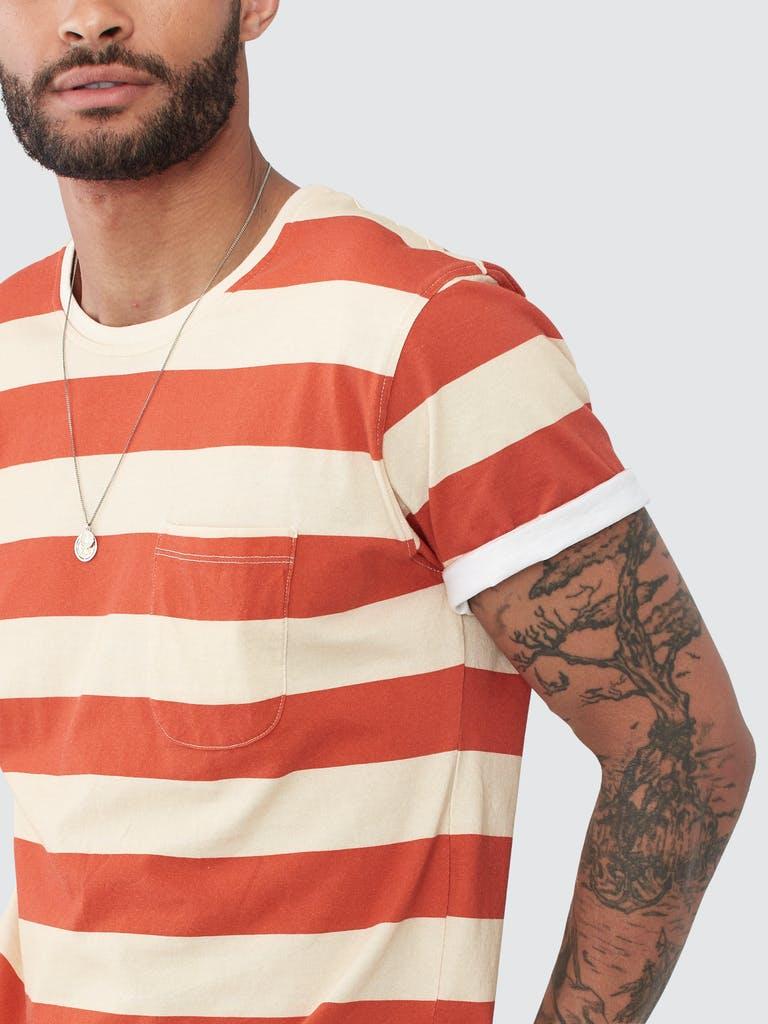 Far Afield Bold Stripe T Shirt product image
