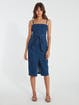 Finders Keepers Miami Denim Midi Dress product image