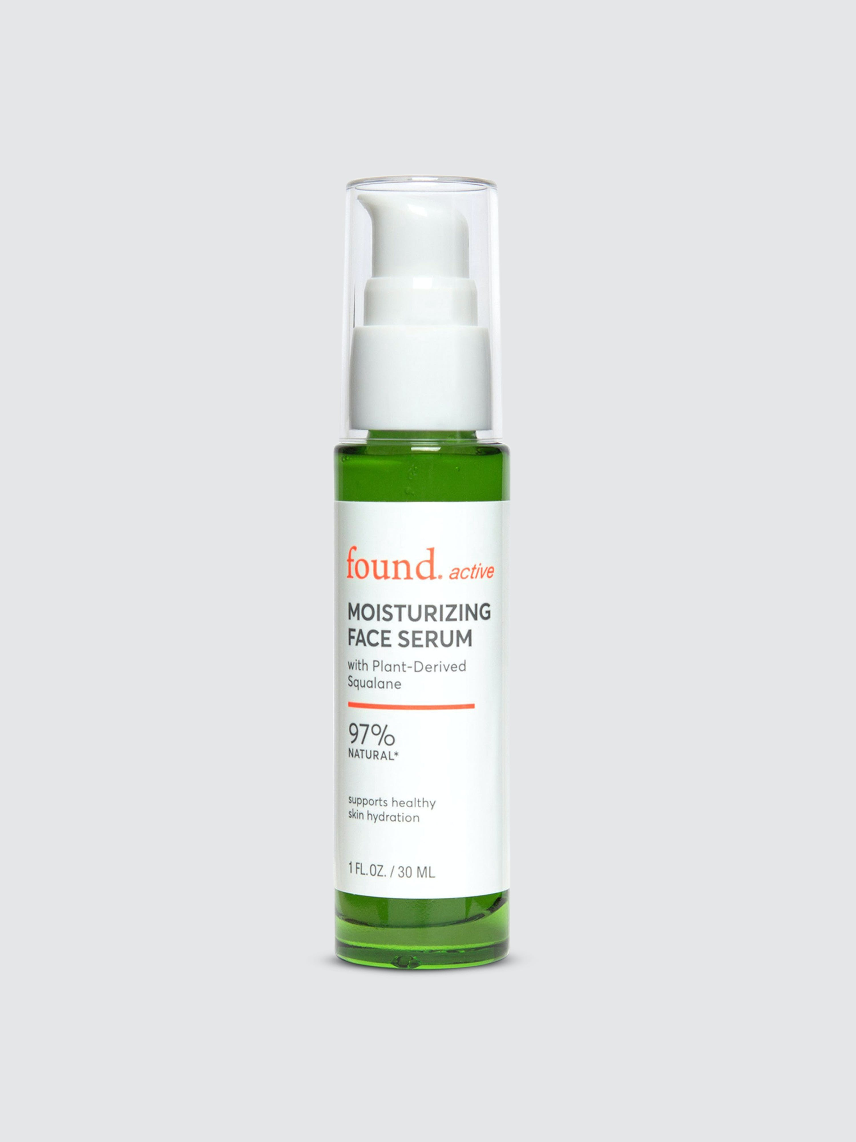 Found Active Moisturizing Face Serum With Plant-derived Squalane