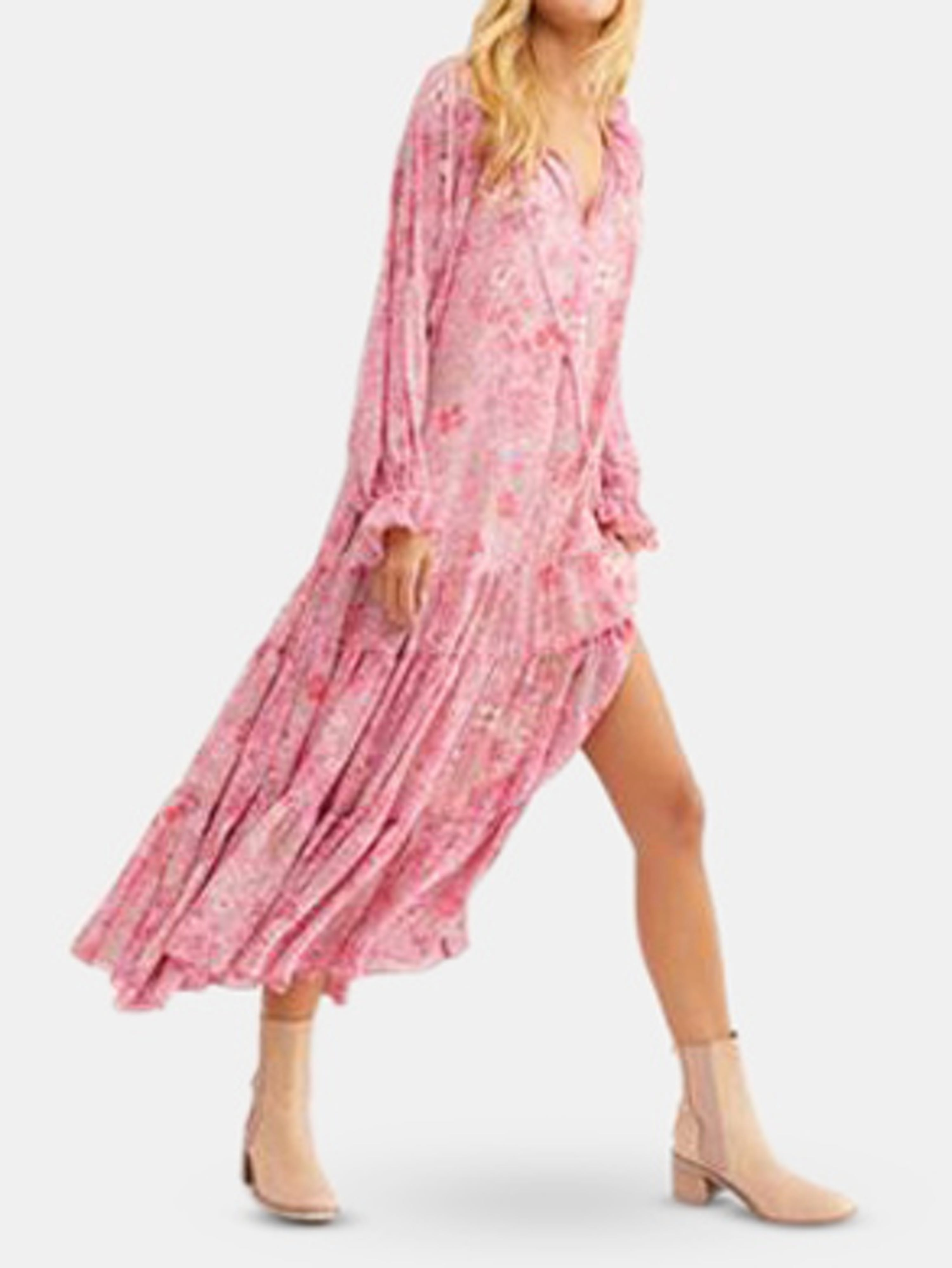 Free People Maxi dresses FEELING GROOVY MAXI DRESS
