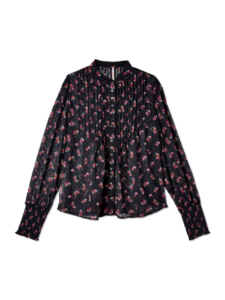 Free People Flowers in December Long Sleeve Blouse product image