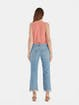 Free People Maggie Mid Rise Distressed Straight Jeans product image