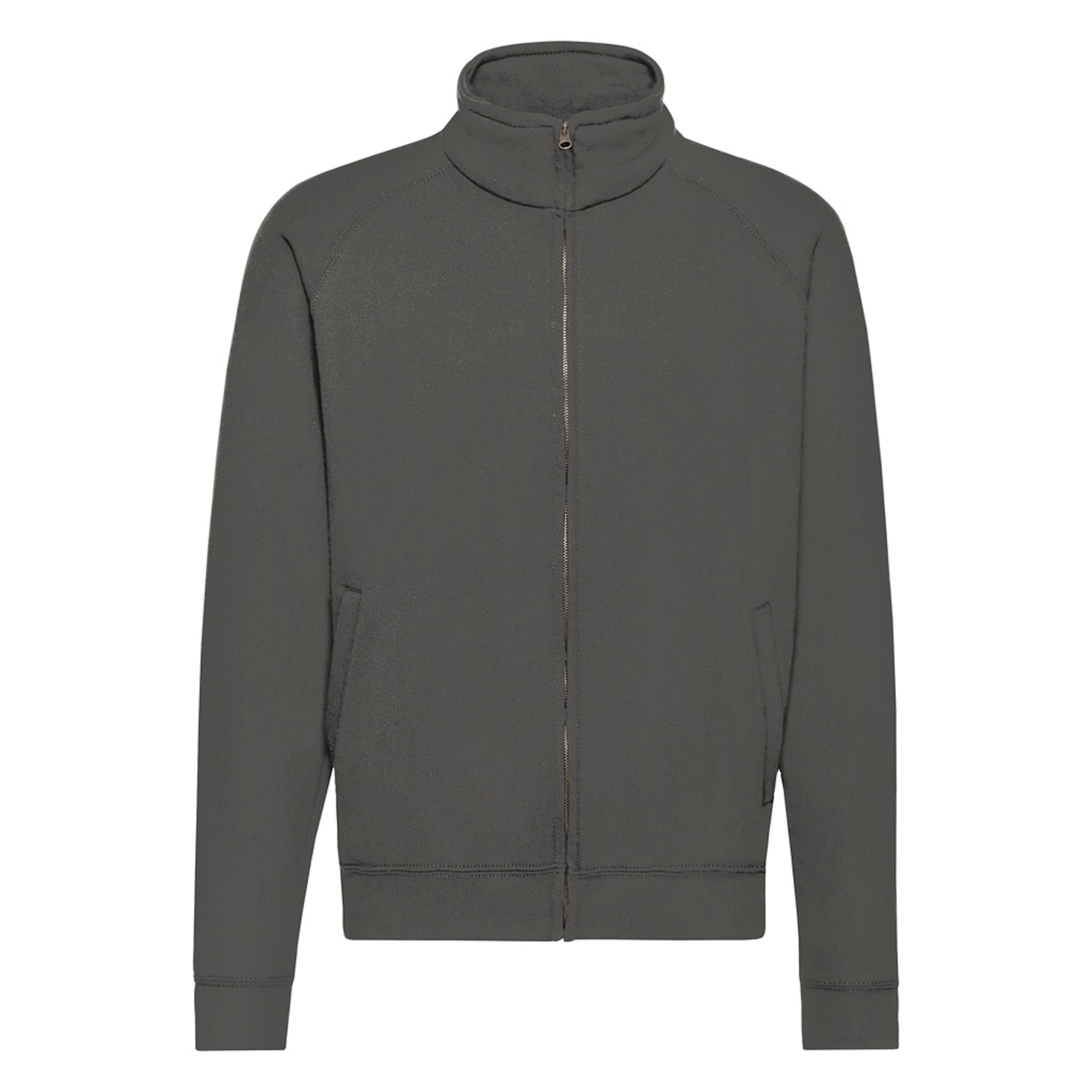 Fruit Of The Loom Mens Classic Jacket (light Graphite) In Grey