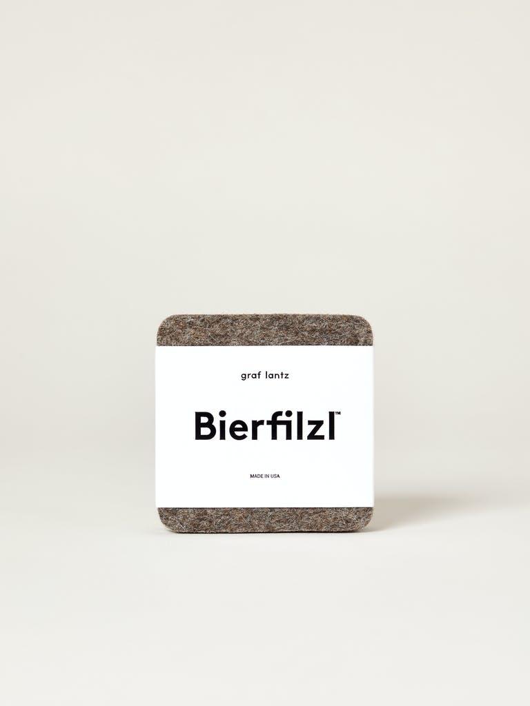 Graf Lantz Bierfilzl Square Felt Coasters, Set of 4 product image