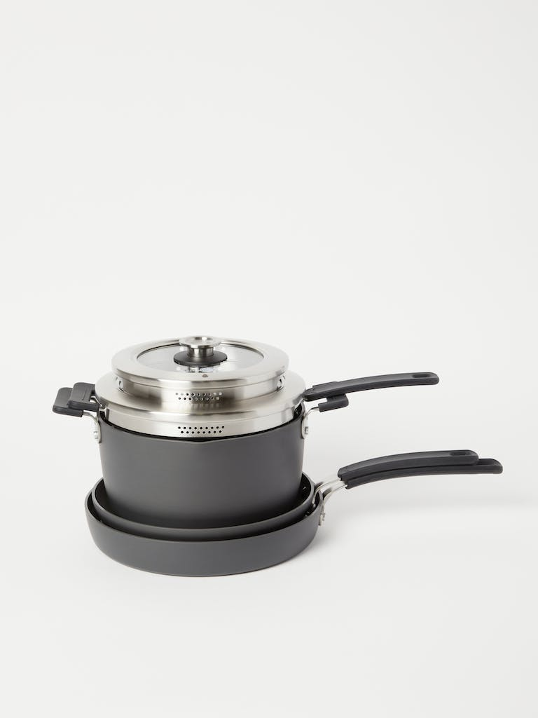 Greenpan Levels Ceramic Non-Stick Stackable Set of 6 product image