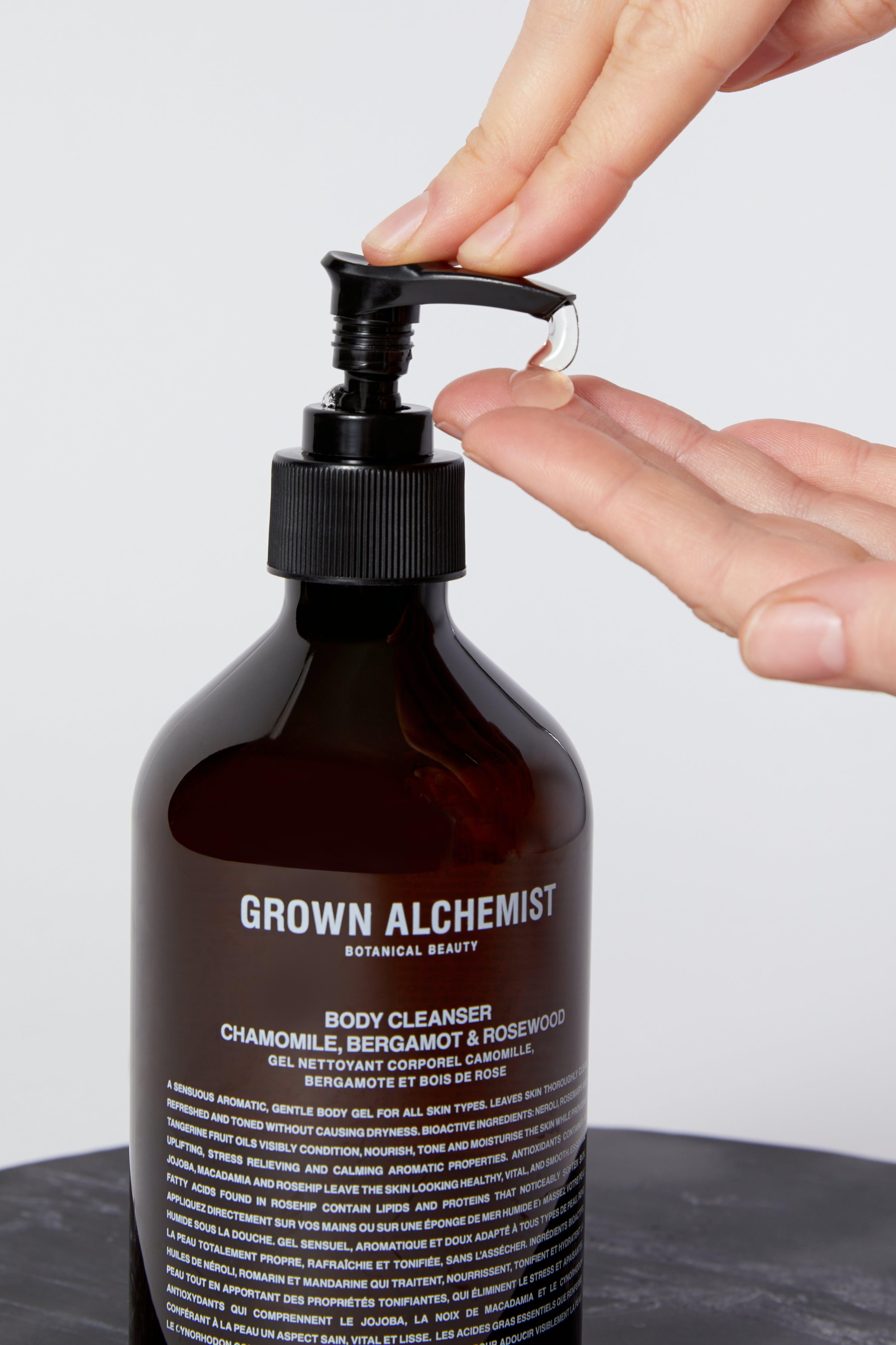 Grown Alchemist Body Cleanser: Chamomile, Bergamot, Rose