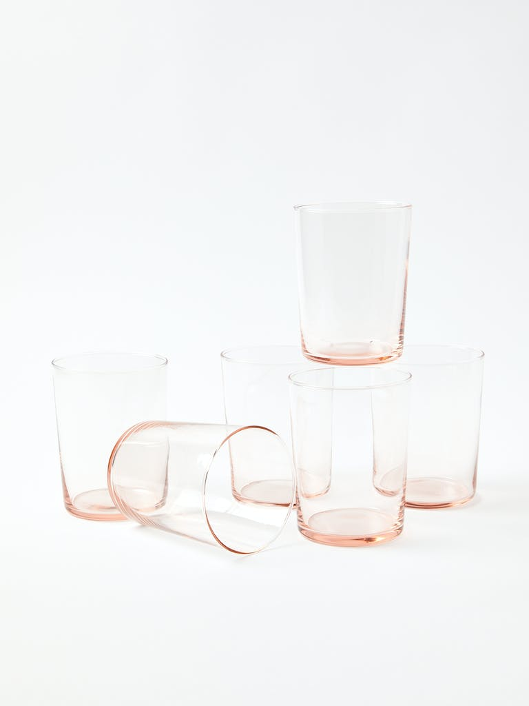 Hawkins NY Chroma Large Glass Tumbler, Set of 6 product image