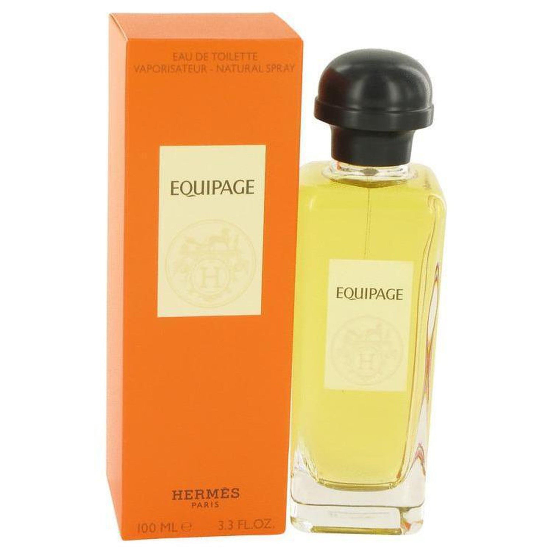 Pre-owned Hermes Equipage By  Eau De Toilette Spray 3.3 oz