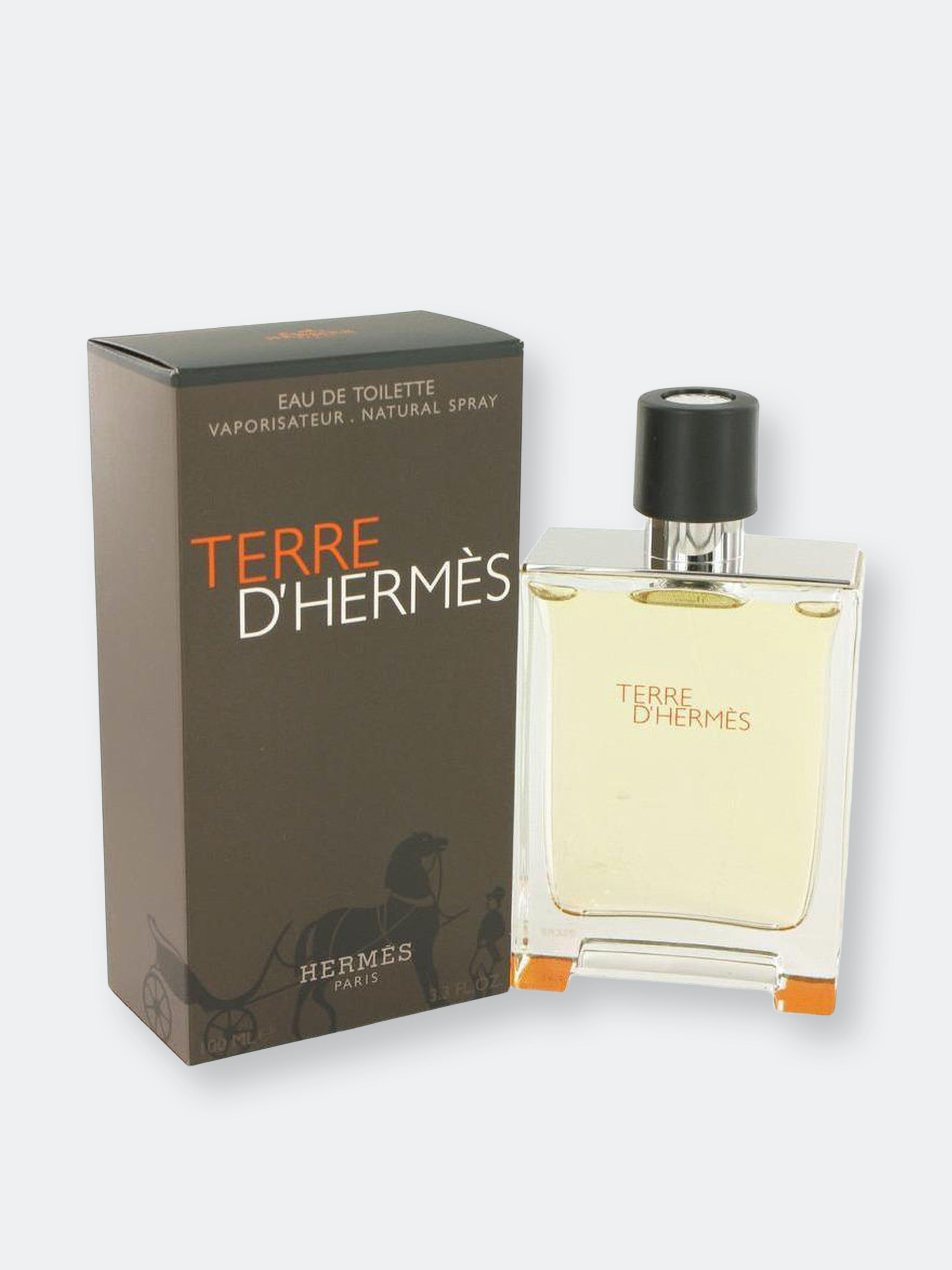Pre-owned Hermes Terre D' By  Eau De Toilette Spray 3.4 oz