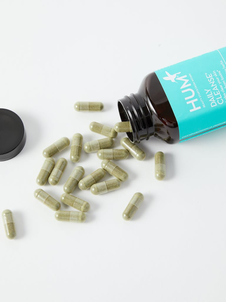 HUM Nutrition Daily Cleanse Capsules product image