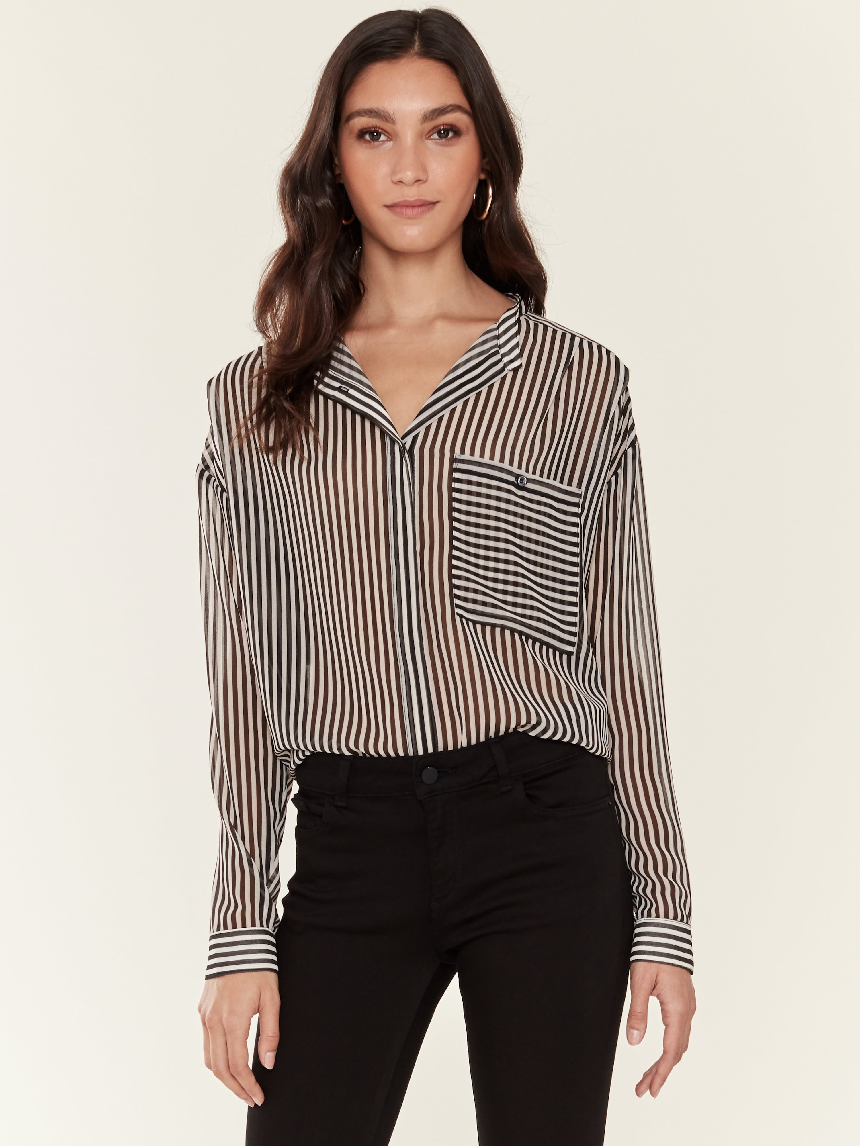 Icons Objects Of Devotion Moderne Blouse - L In Black