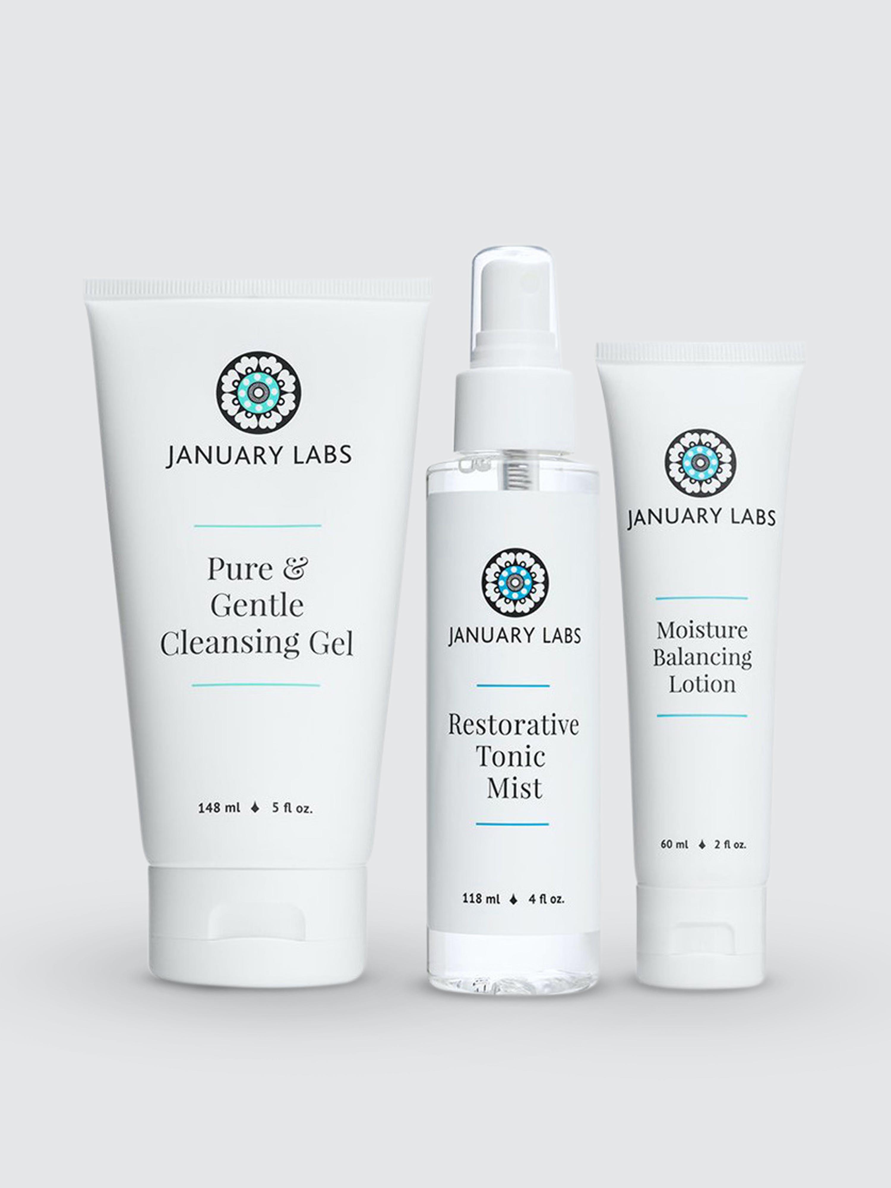 January Labs 1-2-3 Skin Kit