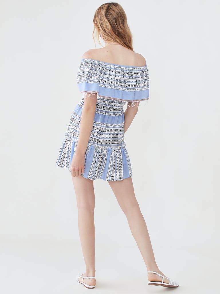 lemlem Amira Off Shoulder Ruffle Dress product image
